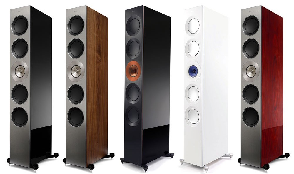 kef reference 5 speaker finishes