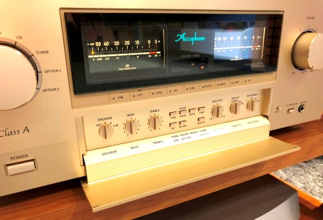 Accuphase E-650 ve studiu!!