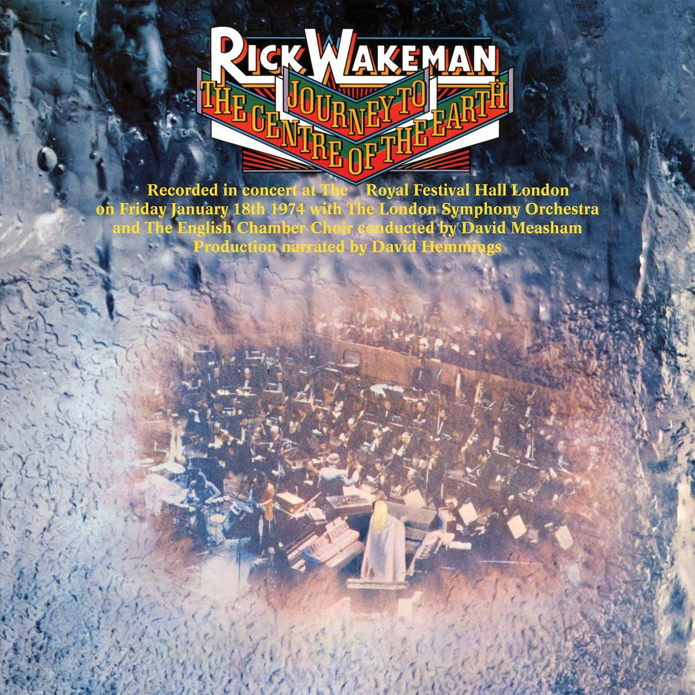 RICK WAKEMANN - JOURNEY TO THE CENTRE OF THE EARTH (CD)