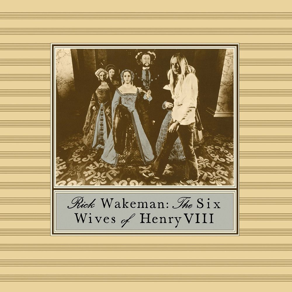 RICK WAKEMANN -THE SIX WIVES OF HENRY VIII (CD)